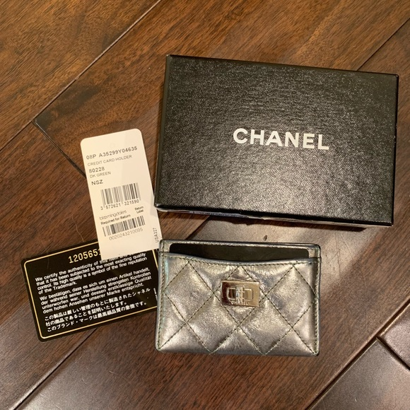 0d43c731f6c295 CHANEL Bags | Authentic 255 Card Holder Wallet | Poshmark